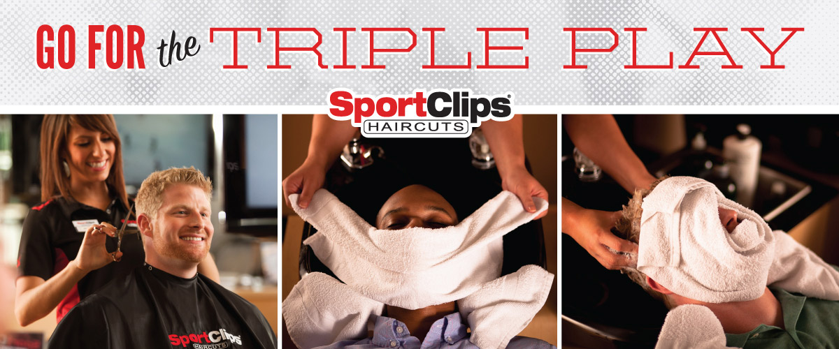 The Sport Clips Haircuts of Vancouver East Triple Play